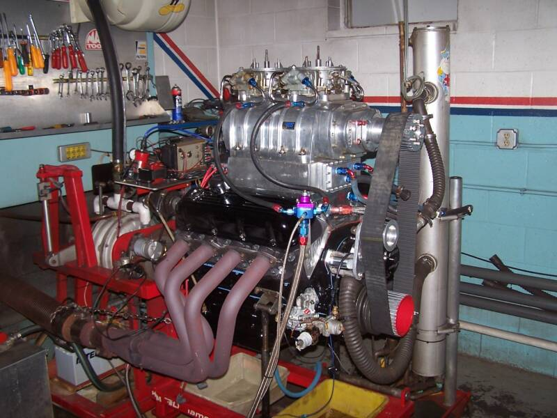 Car Engine Blower : Muscle cars with blowers